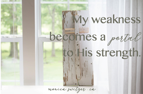 Weakness Becomes A Portal